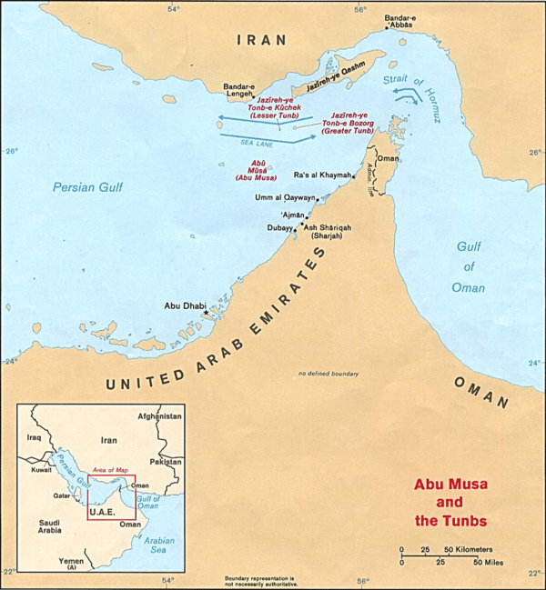 The Resiliency of Oil - hormuz pic