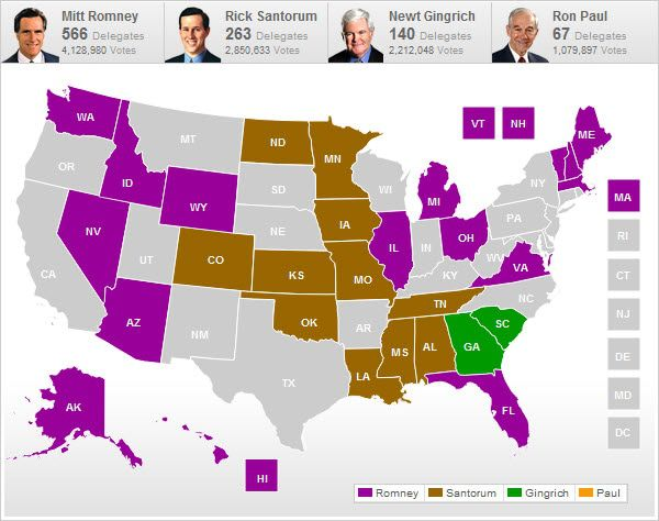 Romney Nomination Fait Accompli . . . The Road To The Presidency Not So Much - chart2