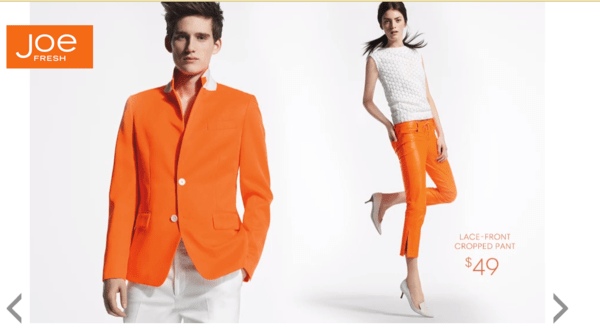 JCP: Game Changers Cost Money - joe fresh image
