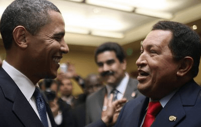 AMUSING MUSINGS FROM LATIN AMERICA - Obama Chavez