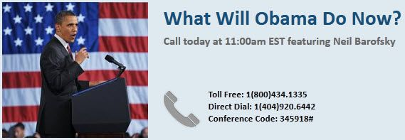 Today's Conference Call: What Will Obama Do Now? - Obamabanner