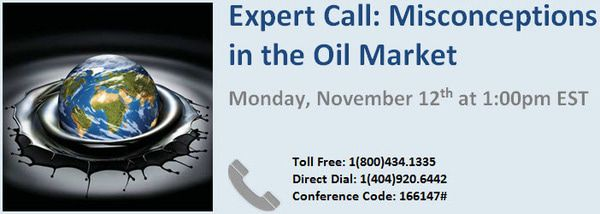 Energy Expert Call: Misconceptions in the Oil Market - AA