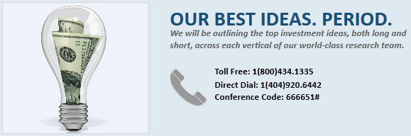 Materials & Dial-in Information for Best Ideas Call - materials