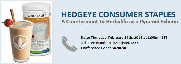 "Call Today: ""A Counterpoint To Herbalife as a Pyramid Scheme"" - Staples herbalifeB"