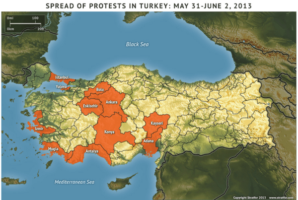 Turkey. . . Much Ado About Nothing? - Turkey Map