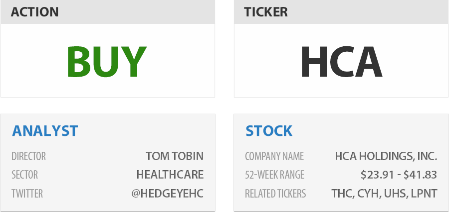 Stock Report: HCA Holdings, Inc. (HCA)  - HE II HCA 6 14 13