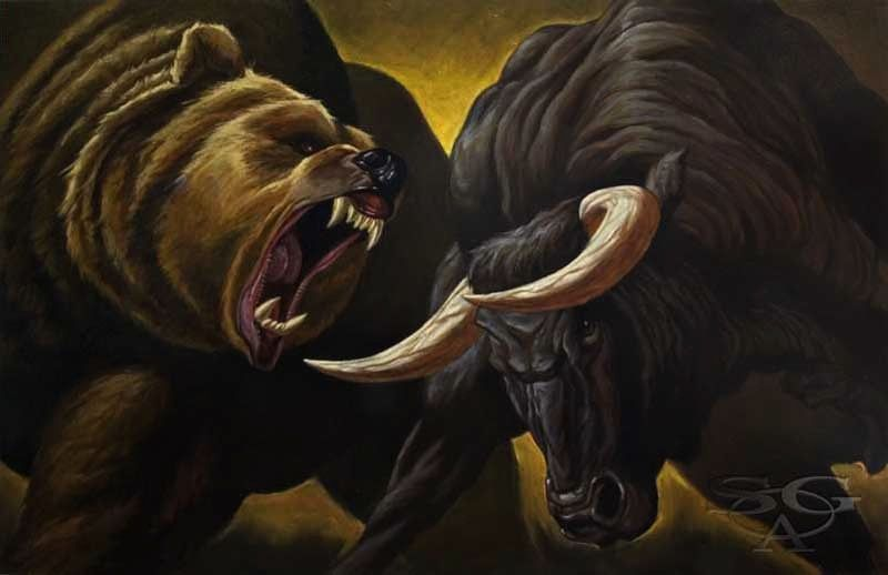 Dicey: SP500 Levels, Refreshed - bulls vs bears