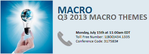 Dial-In and Materials: 3Q 2013 Macro Themes Call - 3Q13themesdialb