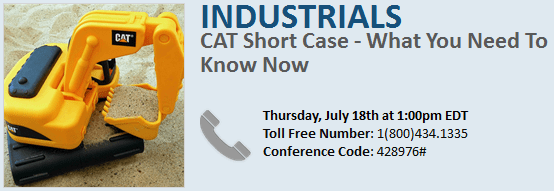 INVITE: CAT SHORT REVIEW/UPDATE TODAY @1PM - vf1