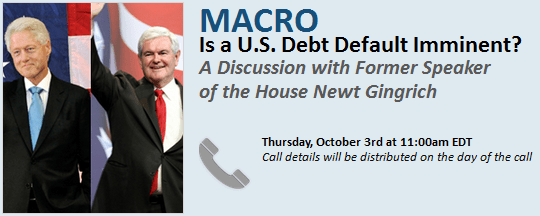Is a U.S. Debt Default Imminent? A Discussion with Former Speaker of the House Newt Gingrich - Newt.client