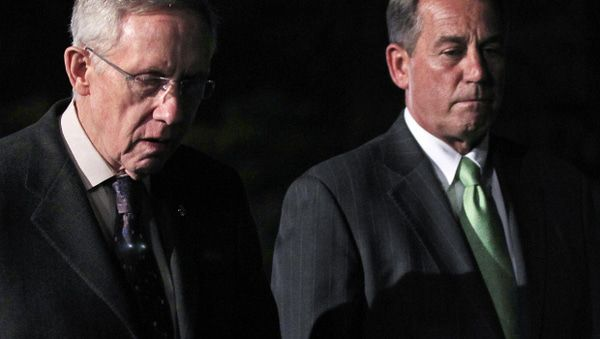 Jones: Congress Is An Embarrassment - boehner reid