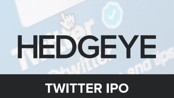 Hedgeye's (Free) Twitter IPO Report - twitipo