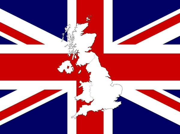 Keep Calm (and Buy Pounds) - UK Flag and Outline Map