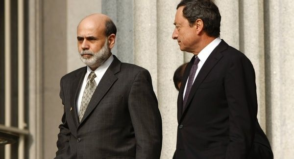 NOTHING COULD GO WRONG. RIGHT? - ben bernanke mario draghi