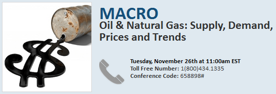Oil & Natural Gas: Supply, Demand, Prices and Trends - Expert Call  - oildialin