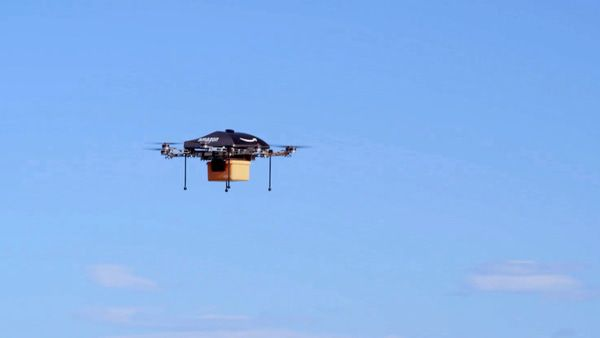$AMZN Drone Delivery: One Big Liability? - amzndrone