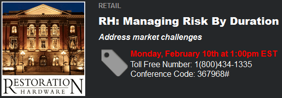 RH: MANAGING RISK BY DURATION ***Reminder - Today (1 pm EST) - RHclient