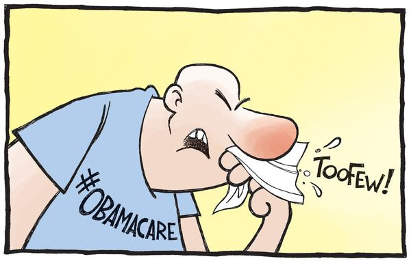 Cartoon of the Day: Obamacare - Too Few