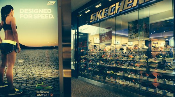 The Mall Says it All - skechers