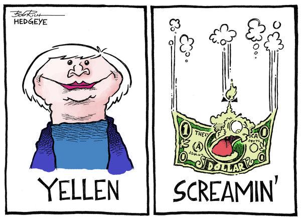 Cartoon of the Day: Yellen & Screamin' - Yellen03.20.2014