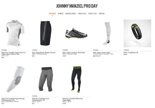 Nike is Betting Big on Johnny Manziel | $NKE - chart1 3 28