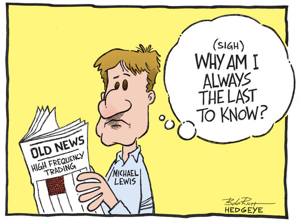 Cartoon of the Day: 60 Minutes Late - Michael Lewis 03.331.14