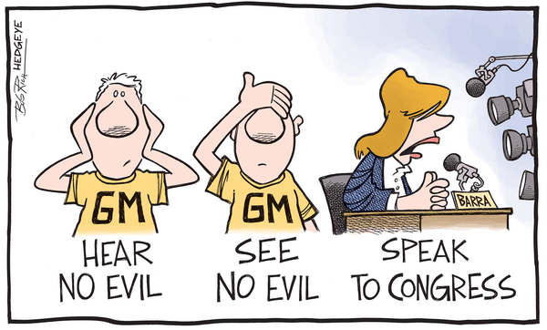 Cartoon of the Day: $GM's Day of Reckoning - gm9