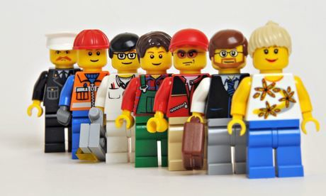 Jobless Claims: More Good News - Lego work people 004