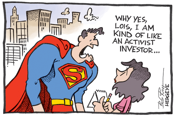 Cartoon of the Day: Superman! - ActivistInvestor