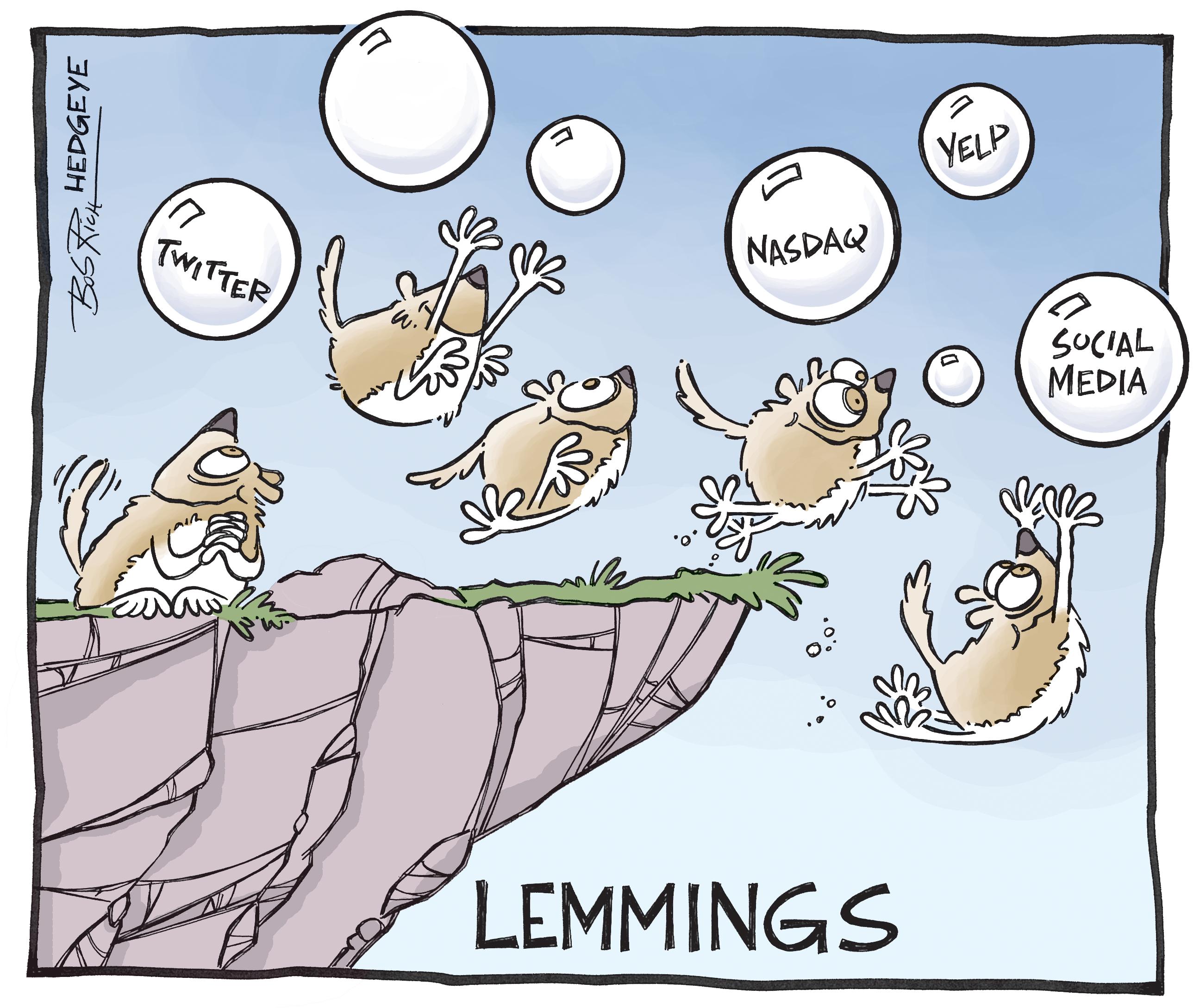 Risultato immagini per lemmings cartoons