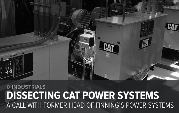 Reminder & Materials: DISSECTING POWER SYSTEMS WITH FORMER HEAD OF FINNING'S PS - cat ps