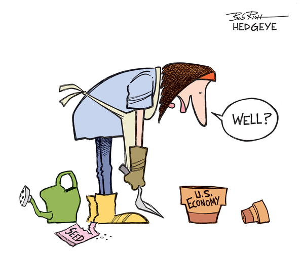 INVESTING IDEAS NEWSLETTER - Economy cartoon 04.15.2014