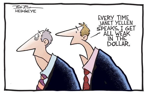 Cartoon of the Day: Weak in the Dollar - Yellen Dollar 04.16.2014