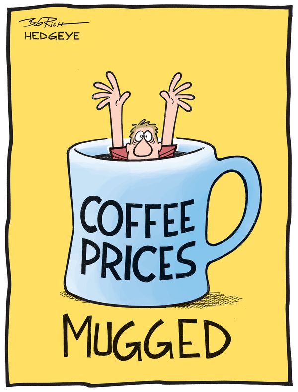Coffee Prices Go Gangbusters, Fed Says Eat an iPad - coffee prices 04.21.2014