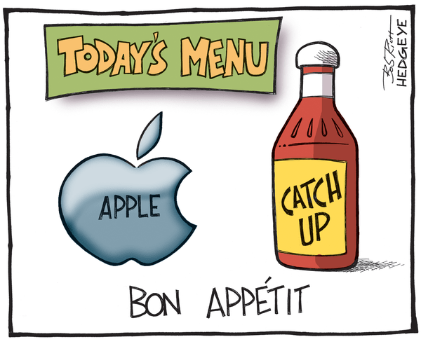 Cartoon of the Day: Will Apple Deliver? - Apple cartoon 4.23.2014