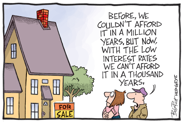 Cartoon of the Day: 1,000 Years - Housing 04.25.2014