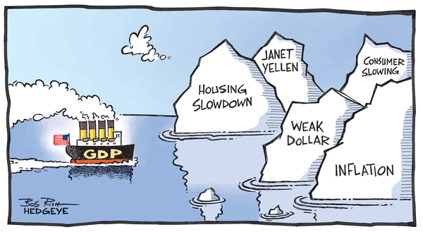 FLASHBACK: Icebergs  - GDP cartoon 04.28.2014