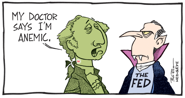 Cartoon of the Day: Bloody Dollar - Dollar Dracula