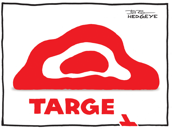 McGough: Why I'm Short Target | $TGT - TARGET cartoon