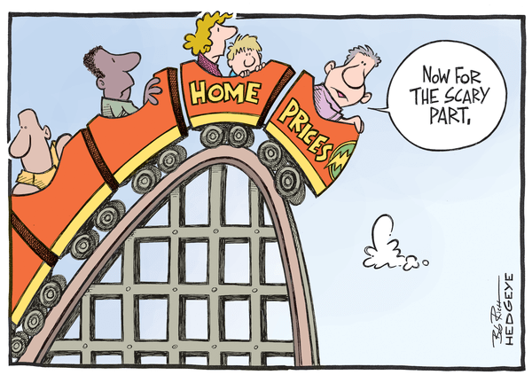 Cartoon of the Day: Housing Rollercoaster - Housing 5.06.2014