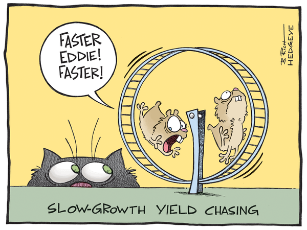 Cartoon of the Day: Yield-Chasing Hamsters - Yield chasing hamsters 5.09.2014