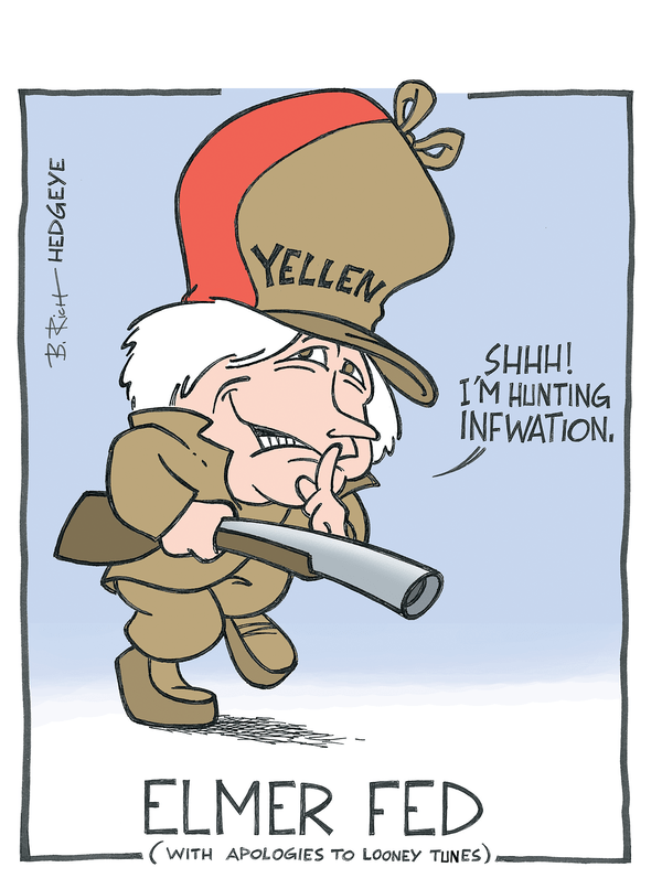 Cartoon of the Day: Elmer Fed - Yellen cartoon 5.13.2014