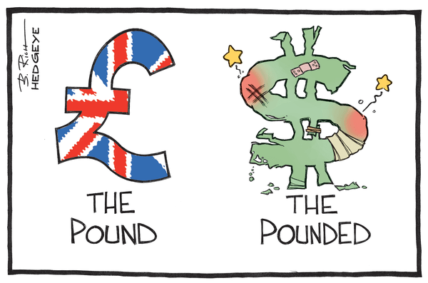 Cartoon of the Day: Pounded Dollar - Pounded 5.16.2014