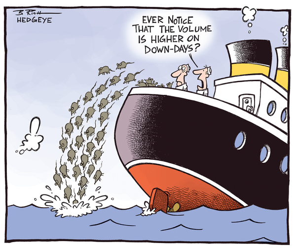 Cartoon of the Day: Abandon Ship - volume cartoon 5.20.2014