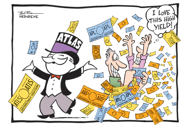 Non-Traded REITS: A Fool and His Money - Atlas cartoon
