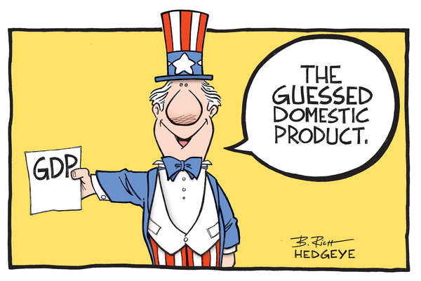 Cartoon of the Day: GDP (Guessed Domestic Product) - GDP cartoon 5.28.2014