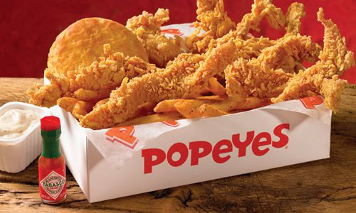 INVESTING IDEAS NEWSLETTER - popeyes wicked chicken