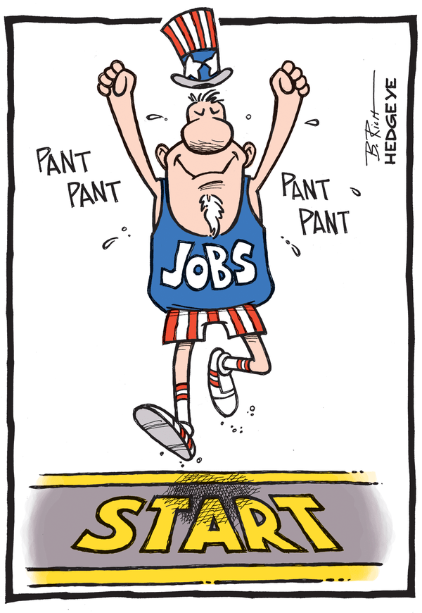 Cartoon of the Day: Jobs Race - Jobs cartoon 6.6.2014