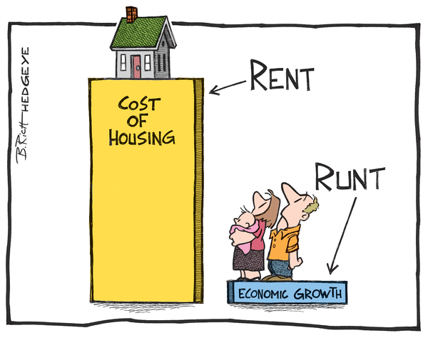 Cartoon of the Day: Paying Rent - Rent cartoon 6.16.2014