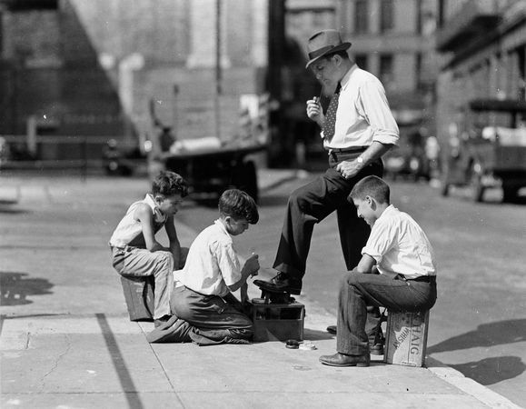 Shoe Shine? - boston shoe shine kids archive 66761 600x450